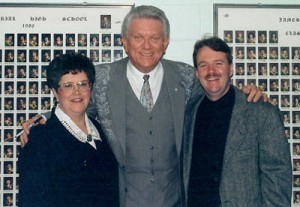 Susan Butler with Tommy Hunter and Brian Edwards