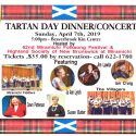 Tartan Day Dinner/Concert April 7th
